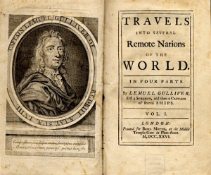 Gulliver's Travels Cover from the first publication