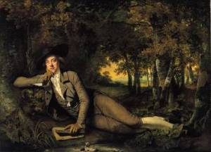 Sir Brooke Boothby, painted by Joseph Wright of Derby